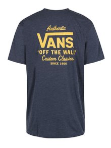 Tricou bleumarin cu inscriptie  pentru barbati - VANS Holder