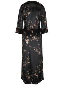 Tmavě zelené sametové kimono Pretty Girl