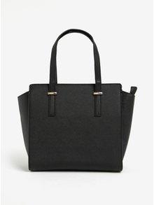 Černá kabelka s detaily ve zlaté barvě Esoria Mozami