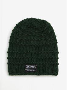 Zelená pánska čiapka MEATFLY Rude Beanie
