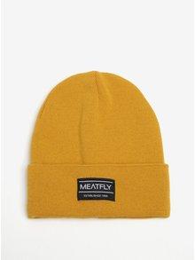 Žlutá pánská čepice MEATFLY Brady 2 Beanie