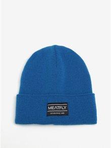 Modrá pánská čepice MEATFLY Brady 2 Beanie