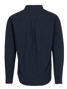 Tmavomodrá melírovaná košeľa Shine Original