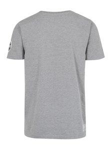 Sivé tričko s nášivkou Shine Original