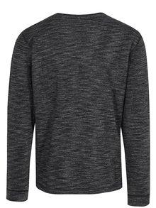 Bluza negru melanj - Shine Original