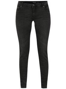 Tmavě šedé slim fit džíny VERO MODA Five