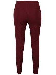 Pantaloni bordo cu talie inalta si fermoar lateral - VERO MODA Pitollo