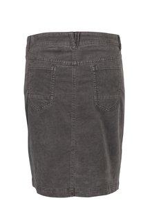 Sivá rifľová sukňa s.Oliver