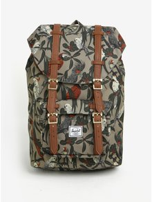 Khaki vzorovaný batoh Herschel Little America 17 l