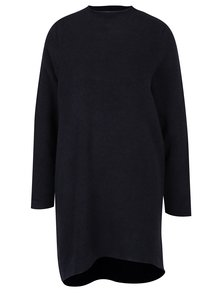 Tmavomodré svetrové šaty VERO MODA Ylda