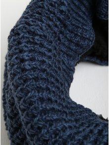 Modrý žíhaný nákrčník Blend