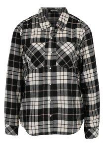 Čierno-biela károvaná košeľa Haily's Tabea