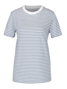 Tricou albastru&alb in dungi - Selected Femme My Perfect