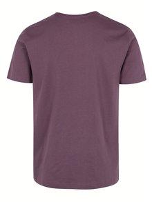 Vínové tričko s krátkým rukávem Original Penguin Pin Point Embroidery