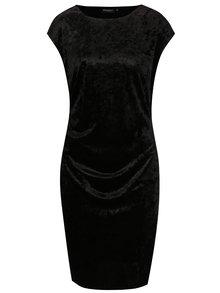 Čierne zamatové šaty Broadway Nunzia