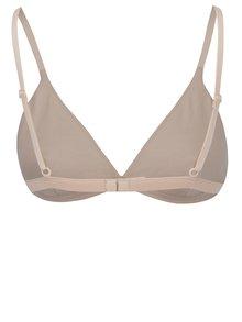 Sutien nude din bumbac organic cu bretele ajustabile - NALU Underwear