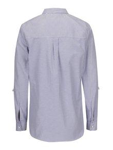 Bielo-modrá pruhovaná košeľa s korálkami Dorothy Perkins