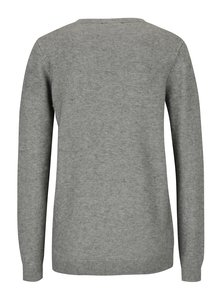 Sivý sveter s motívom tučniakov z flitrov Dorothy Perkins