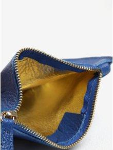Modrá kožená kosmetická taštička ZOOT