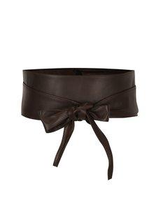 Hnědý kožený pásek ZOOT