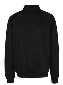 Čierna tenká bunda Merc