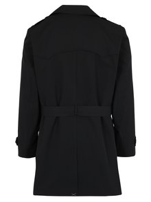Jacheta neagra cu doua randuri de nasturi Burton Menswear London