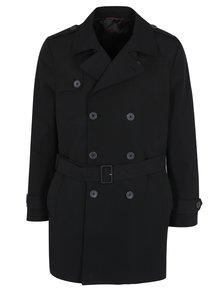 Černý trenčkot Burton Menswear London