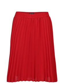 Červená plisovaná sukňa Broadway Sukie