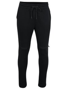 Pantaloni sport negri cu fermoare pe genunchi -  Jack & Jones Core Bone