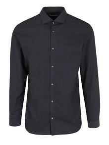 Tmavě modrá formální slim fit košile Jack & Jones Premium Salvador
