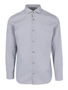 Šedá formální slim fit košile Jack & Jones Premium Salvador