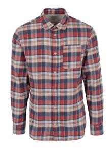 Červená károvaná košeľa Jack & Jones Vintage Midleton