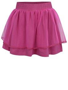Růžová dievčenská tylová sukňa Venere