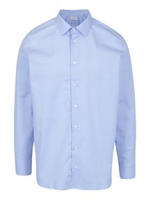 Světle modrá formální regular fit košile odolná proti skvrnám LABFRESH