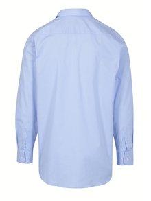 Svetlomodrá formálna regular fit košeľa odolná proti škvrnám LABFRESH