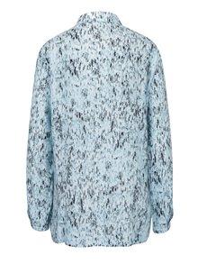 Modrá vzorovaná košeľa Yest