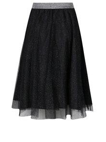 Černá tylová sukně se třpytkami Haily's Party