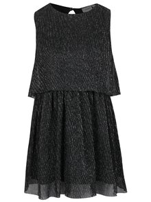 Čierne plisované dievčenské šaty name it Idora