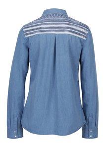 Modrá dámska rifľová košeľa Roxy Light of Down
