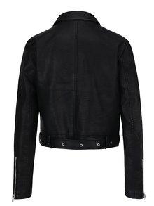Čierna koženková bunda Haily's Adele