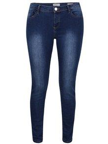 Tmavě modré džíny s vyšisovaným efektem Haily´s Aurora