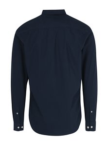 Tmavomodrá formálna slim fit košeľa Selected Homme