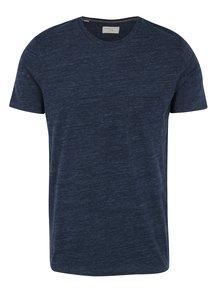 Tmavě modré žíhané tričko Selected Homme Richard