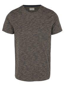 Sivé melírované tričko Selected Homme Richard
