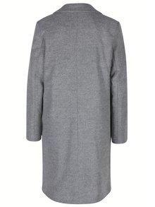 Sivý kabát s podšívkou ZOOT