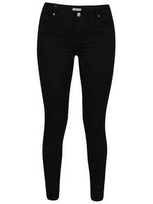Pantaloni negri slim fit cu buzunare - Haily's Hanna
