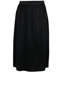 Čierna plisovaná sukňa VILA Silvi