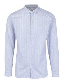 Světle modrá pruhovaná slim fit košile Selected Homme One Smart