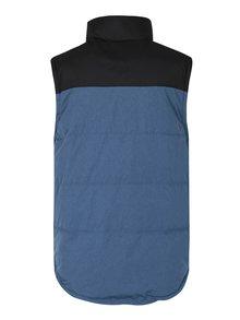 Vesta albastru&negru impermeabila MEATFLY West 2