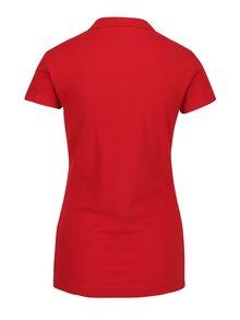 Červené dámské slim fit polo tričko Tommy Hilfiger New Chiara